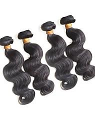 beautysister hair products 100% unprocessed brazilian virgin human hair 4pcs 400g thick bundles deals body wave hair weaving natural color 10a