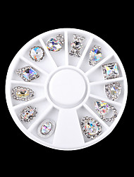 cheap -1pcs Rhinestones Metallic Fashion Lovely Cute Multi-shade Sparkling High Quality Daily Nail Art Design