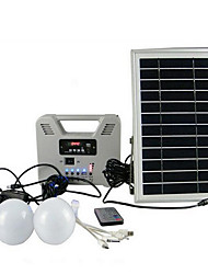 cheap -Garden Lights Modern / Contemporary LED Integrated Solar Powered 12 V