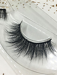 cheap -Eyelashes lash Others Eyes Thick Lifted lashes Volumized Handmade Animal wool eyelash Black Band 0.10mm 15mm