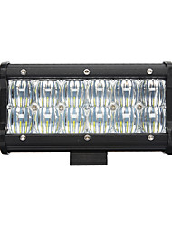 NEW 7inch 60W LED Work Light Bar 5D Flood Beam  Off road Driving Fog Light 6000K 12V Truck ATV SUV