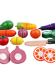 Pretend Play Toys Furniture Vegetables Friut Simulation Kid's 1 Pieces