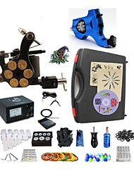 Professional Tattoo Kit 1 rotary machine liner & shader 1 alloy machine liner & shader 2 Tattoo Machine Inks Not Included