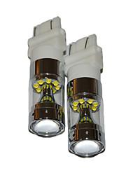 2017 nuovo t25 led lampadina t25 condotto accendere la luce di freno luce di segnale di retromarcia luce di colore bianco
