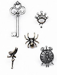cheap -Women's Jewelry Set Brooches Luxury Basic Fashion Imitation Diamond Alloy Others Spiders Animal Assorted Color Jewelry For Daily