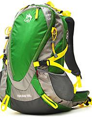 Недорогие -30 L Заплечный рюкзак - Водонепроницаемость Дожденепроницаемый Защита от пыли На открытом воздухе Отдых и Туризм Восхождение Нейлон Зеленый Оранжевый Желтый
