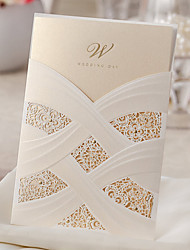 cheap -Wrap & Pocket Wedding Invitations 10 - Others Invitation Cards Classic Material Card Paper Flower
