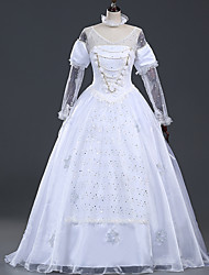 Princesse Reine Conte de Fée Costume de Cosplay Cosplay de Film Robe Halloween Carnaval Mousseline de soie