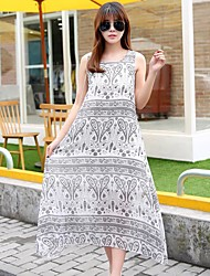 cheap -Women's Classic & Timeless A Line Dress - Other, Artistic Style High Waist