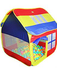 cheap -Play Tents & Tunnels Pretend Play Toys Toys Novelty Extra Large Nylon Boys' Girls' Pieces