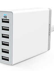 cheap -Dock Charger USB Charger US Plug Fast Charge / Charger Kit / Multi Ports 6 USB Ports 2.4 A / 12 A