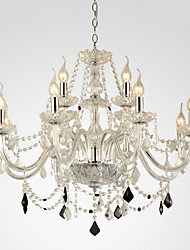 Chandelier ,  Modern/Contemporary Others Feature for Crystal GlassLiving Room Bedroom Dining Room Bathroom Study Room/Office Kids Room