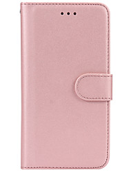 cheap -For iPhone X iPhone 8 Case Cover Wallet Card Holder Flip Full Body Case Solid Color Hard PU Leather for Apple iPhone X iPhone 8 Plus