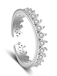cheap -Women's Platinum Plated Ring - Stylish For Wedding Party Special Occasion Party / Evening