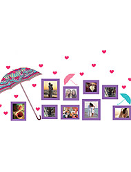 Wall Stickers Wall Decals Style Umbrella Photograph PVC Wall Stickers