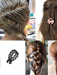 Недорогие -пластиковые волосы инструмент головной убор свадебный вечер элегантный женственный стиль