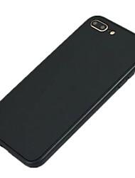 economico -Custodia Per Apple iPhone 8 iPhone 8 Plus Ultra sottile Integrale Tinta unica Morbido Silicone per iPhone 8 Plus iPhone 8 iPhone 7 Plus