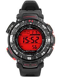 Недорогие -JUBAOLI Спортивные часы электронные часы Кварцевый Цифровой Pезина Группа Черный