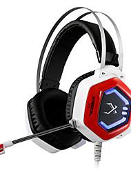xiberia v11 gioco auricolare ha portato fascia stereo luce incandescente cuffie PC Gamer Super Bass cuffie vibrazioni 7.1 USB con