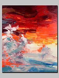 Hand Painted Modern Abstract Landscape Oil Painting On Canvas Wall Art Picture For Home Decoration Ready To Hang