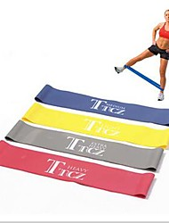 Rubber Track and Field Training Fitness Equipment Yoga Rubber Stretch Elastic Band 500*50mm