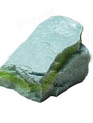 Aquarium Dekoration Steine Nicht - giftig & geschmacklos Harz Grau