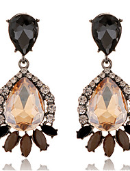 cheap -Women's Synthetic Tanzanite / Crystal Drop Earrings - Crystal, Imitation Diamond Drop Fashion Light Brown For Party / Going out