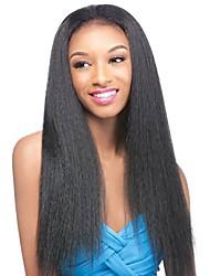 стиль горячей продажи от 8 до 26 дюймов человеческих волос девственница бесклеевой полный парик шнурка с оптовой волос младенца для черной