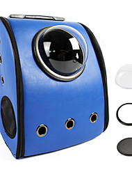 preiswerte -Katze Hund Transportbehälter &Rucksäcke Astronaut Kapselträger Haustiere Träger Tragbar Atmungsaktiv Solide Braun Blau Rosa