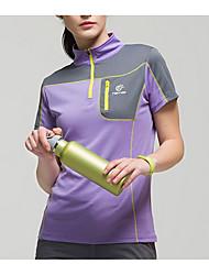 Femme Unisexe Tee-shirt de Randonnée Séchage rapide Hauts/Top pour Sport de détente Eté M L XL