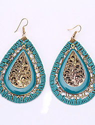 cheap -Bohemia Droplets Woven Earrings Exotic Act the Role Ofing Is Tasted