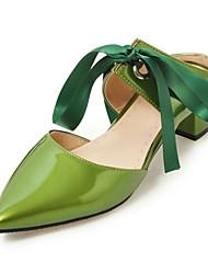 economico -Tacchi-Ufficio e lavoro Formale Casual-Comoda Innovativo Club Shoes-Basso-Materiali personalizzati Spandex Fabric-Nero Verde Rosa Rosso