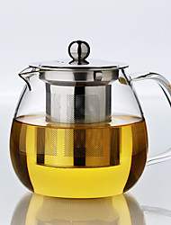 cheap -1PC Slap-Up Atmospheric Family Entertainment Glass Tea set Teapot