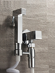 cheap -Contemporary Hand Shower Chrome Feature - Eco-friendly, Shower Head