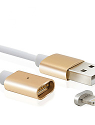 abordables -Lightning Cable Cable de Carga Cable Cargador Datos y Sincronización Magnético Normal Cable Para Apple iPhone iPad 100