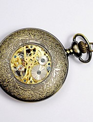 ieftine -Bărbați Ceas de buzunar Quartz Mare Dial Aliaj Bandă Vintage Yellow