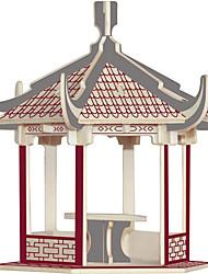 Недорогие -Деревянные пазлы Знаменитое здание Китайская архитектура Лошадь профессиональный уровень Дерево 1 pcs Игрушки Подарок
