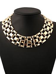 ieftine -Dame Altele Circle Shape Personalizat Cute Stil Euramerican Bijuterii Statement European Lănțișoare Coliere Bijuterii Aliaj Lănțișoare