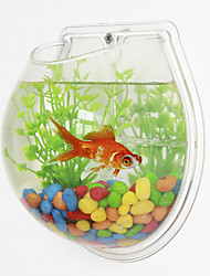 abordables -Mini aquariums Fonds Artificiel Plastique