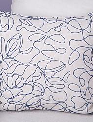 1 Stk. Polyester Pudebetræk,Udsmykket & Broderet Euro