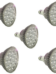 cheap -5pcs 200-300 lm E27 LED Grow Lights 18 leds High Power LED Red Blue AC85-265 AC 85-265V