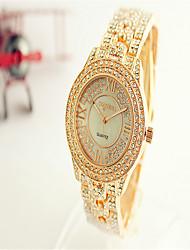 Dámské Módní hodinky Křemenný Slitina Kapela Přívěsek Stříbro Zlatá Růžové zlato