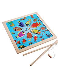 baratos -Quebra-Cabeça / Brinquedos de pesca Pato / Peixes Criativo / Novidades Crianças Para Meninos
