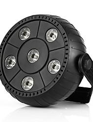 U'King 1 комплект Светодиодные театральные лампы Светодиодные параболические алюминиевые рефлекторы Активация звуком Авто 9W Для