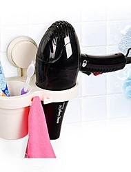 Набор аксессуаров для ванной Полка для ванной Держатель для зубных щеток / Пластик Современный