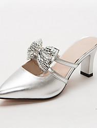 Femme Chaussures à Talons Confort Nouveauté Similicuir Polyuréthane Printemps Eté Automne HiverMariage Décontracté Soirée & Evénement