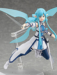 cheap -Anime Action Figures Inspired by Sword Art Online Cosplay PVC 15 CM Model Toys Doll Toy