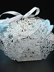 preiswerte -Kreativ Perlenpapier Geschenke Halter Mit Bänder Geschenkboxen