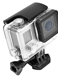 abordables -Cadre Souple Etui de protection Coque Etanche Coque Fixation Imperméable, Pour-Caméra d'action,Gopro 4 Gopro 3+