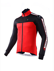 Mysenlan Cycling Jacket Men's Bike Winter Fleece Jacket Top Bike Wear Classic Cycling/Bike